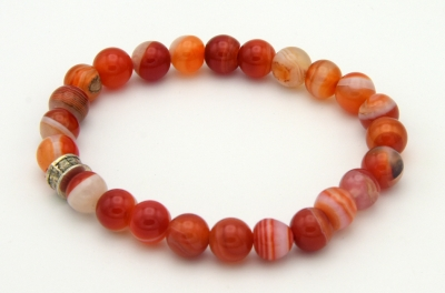 Red Sulemani 8mm Bracelet