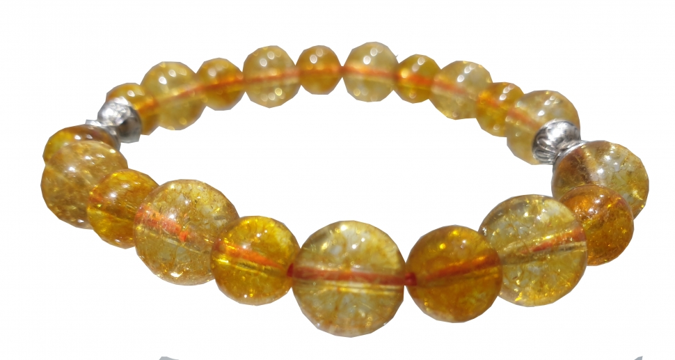 Citrine High Quality Bracelet 8 MM