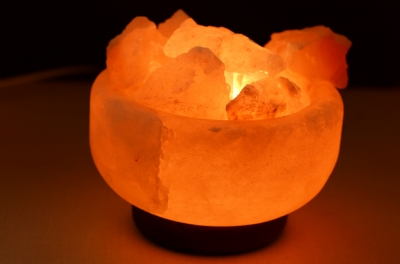 Himalayan Pink Salt Lamp Fire Bowl
