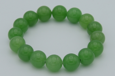 Green Aventurine 12 Mm Bracelet