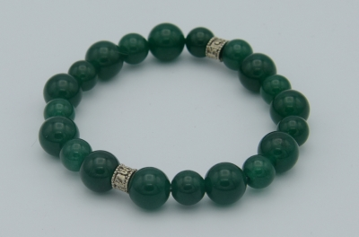 Green Jade 8mm Bracelet