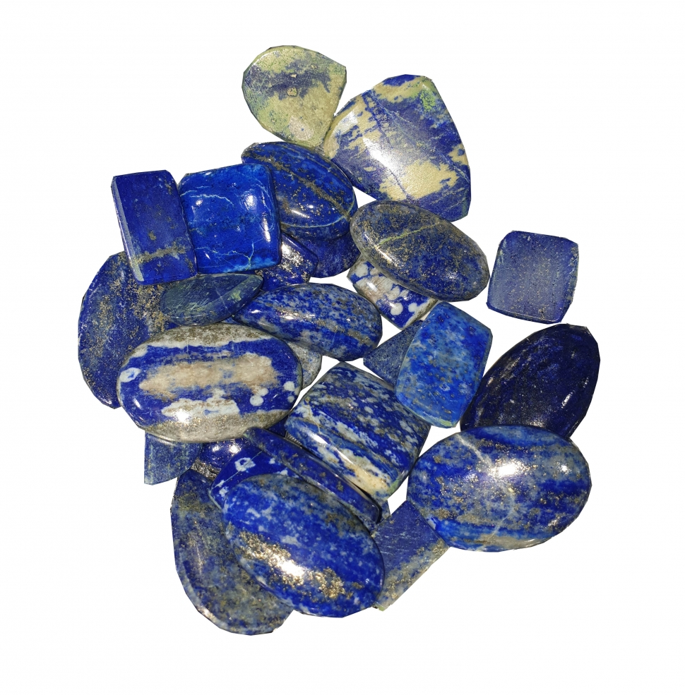 Lapis Cabochon Weight 100 GM