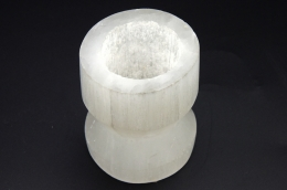 Selenite Candel Holder